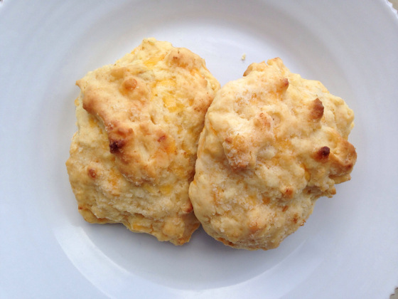 The Best Cheddar Cheese Biscuits!