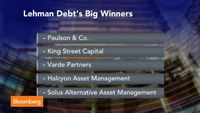 Lehman's Remains Reap Billions for Hedge Funds