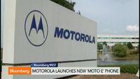 Motorola Launches New `Moto E' Smartphone