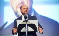 Mr Martin Schulz, President of the European Parliament addressing the guests at the Ceremony.