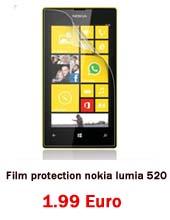 Film protection nokia lumia 520