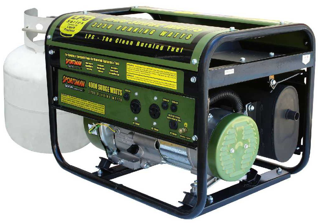 Sportsman GEN4000LP 4000 Watt Propane Generator Review,Propane generator reviews, Sportsman portable generators reviews