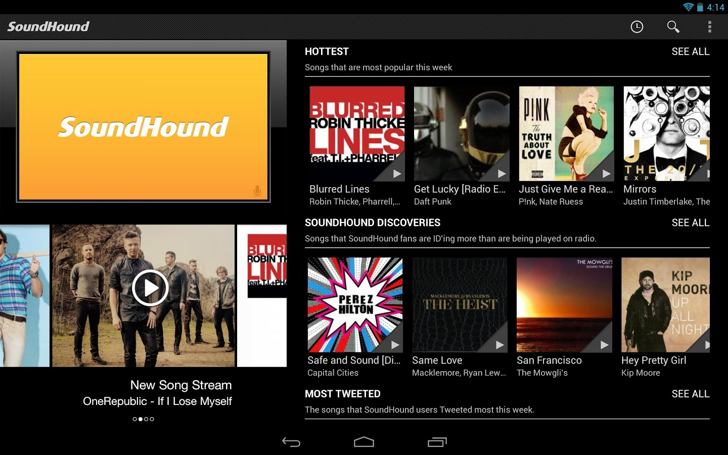 Descargar SoundHound para Android