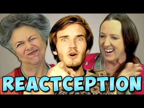 PewDiePie Reacts To: Elders React To: PewDiePie?