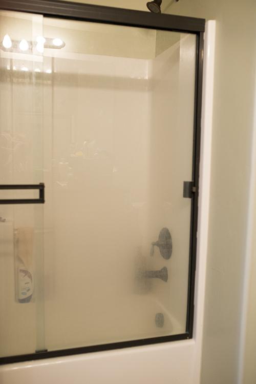 Magic Eraser to Clean Glass Shower Doors
