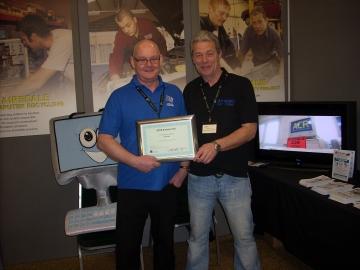 Keith & Neil with SEYH Award