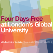 UCL Festival of the Arts