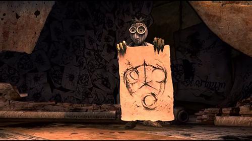 6 é visionnary obcecado com um símbolo que acaba por ser o talismã necessário para salvar a gangue. Se você olhar atentamente para 6 de esboços, você pode notar que eles contêm os números de 666 ...