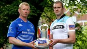 Captains Leo Cullen and Alastair Kellock