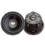Lanzar MAXP64 Max Pro 6.5-Inch 600-Watt Small-Enclosure 4-Ohm Subwoofer