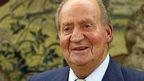 King Juan Carlos of Spain. 2 June 2014