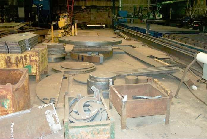 Shop Floor Profile Cutting steel plate