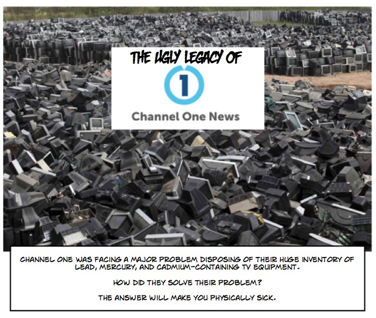The ugly legacy of Channel One News