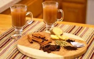 Warming digestive winter teas