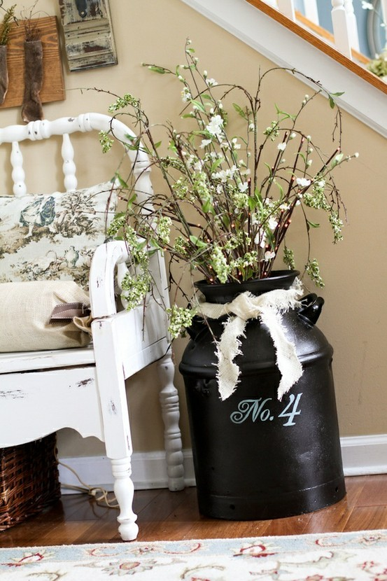 vintage vase and crib Add a Little Vintage to your Decor!