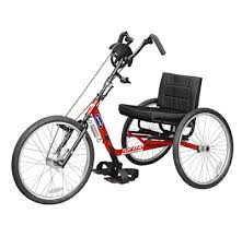 Tricycle for people with health problems