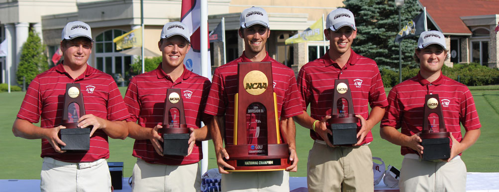 Schreiner Men's Golf: National Champions!