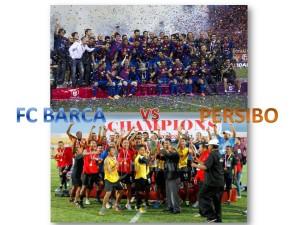 FC Barcelona vs PERSIBO Bojonegoro