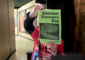 Dinosaur Discovery Day at the Museum of Natural History at University of Michigan
