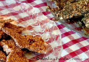 dehydrated raw fruit crackers