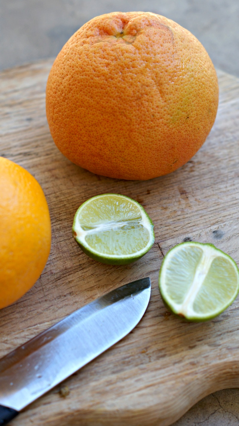 This citrus vinegar cleaner works and doesn't stink! I love it to clean my kitchen and bathroom. thesproutingseed.com