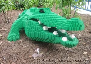 Legoland Orlando alligator