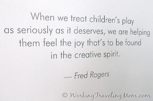 Rogers quote Childrens Museum of Pittsburgh