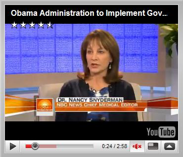 Obama Administration to Implement Government Flu Shot Program? May 2009