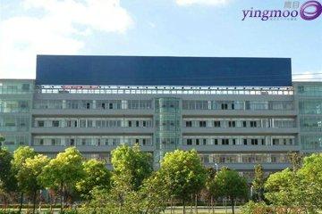 沪宁高速上海段江桥主收费口西侧1公里处楼顶大牌广告
