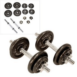 cheap adjustable dumbbells set