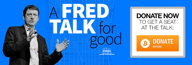 A Fred Talk for Good on Crowdrise