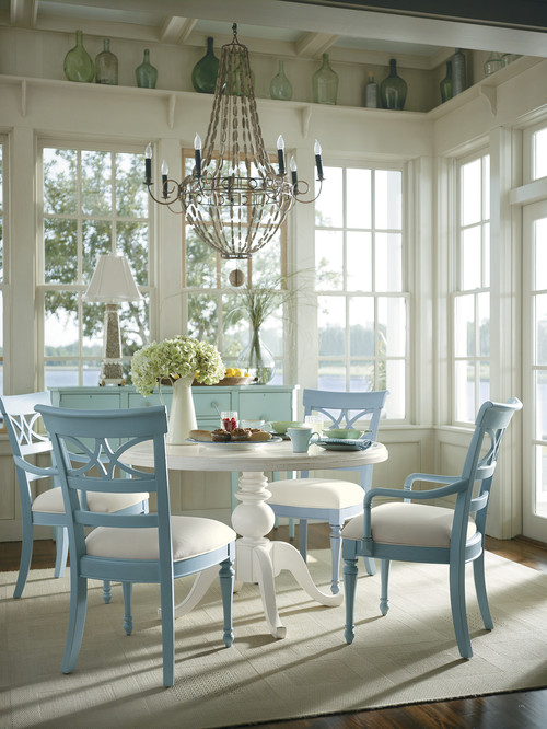 tropical dining room Achieve Tranquility of the Coast in your Home