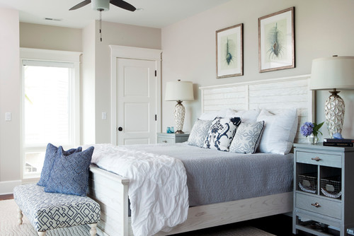 beach style bedroom Achieve Tranquility of the Coast in your Home