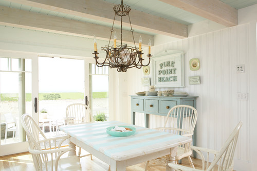 beach style dining room Achieve Tranquility of the Coast in your Home