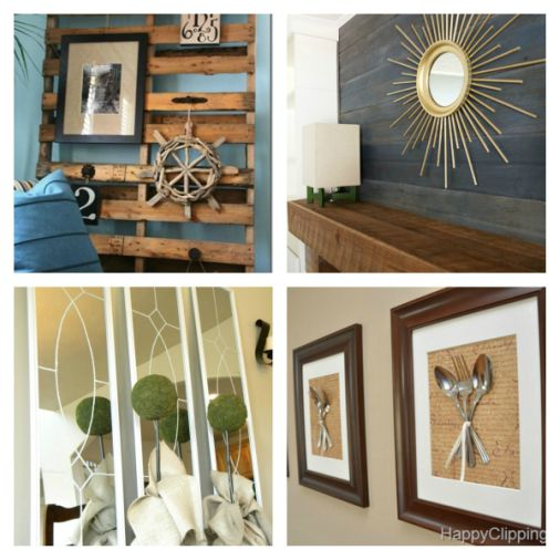 diywallart Great Examples of Easy, Inexpensive DIY Wall Art