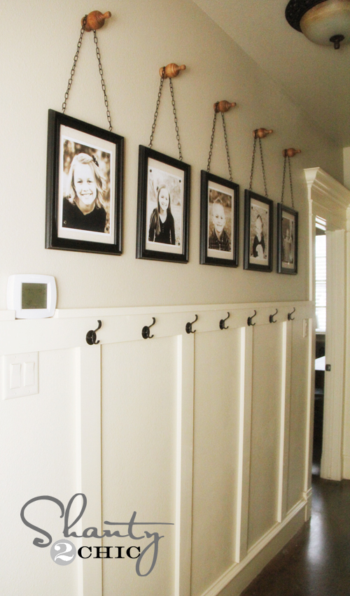 wall frames with finials Great Examples of Easy, Inexpensive DIY Wall Art