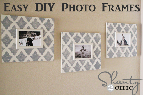 pin frames Great Examples of Easy, Inexpensive DIY Wall Art