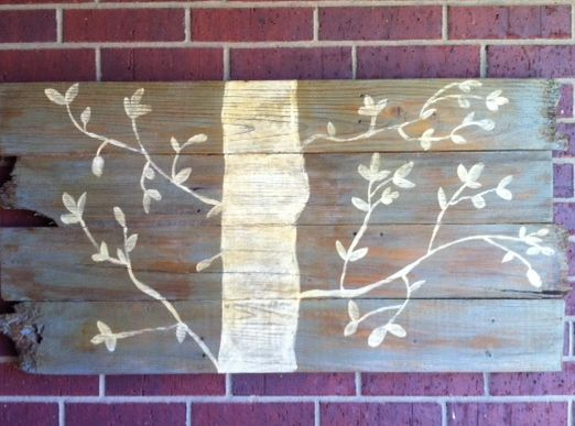 wood art Great Examples of Easy, Inexpensive DIY Wall Art