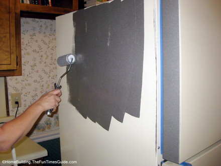 paint top and sides first thumb 440x330 13802 Kitchen Updates for Under $150