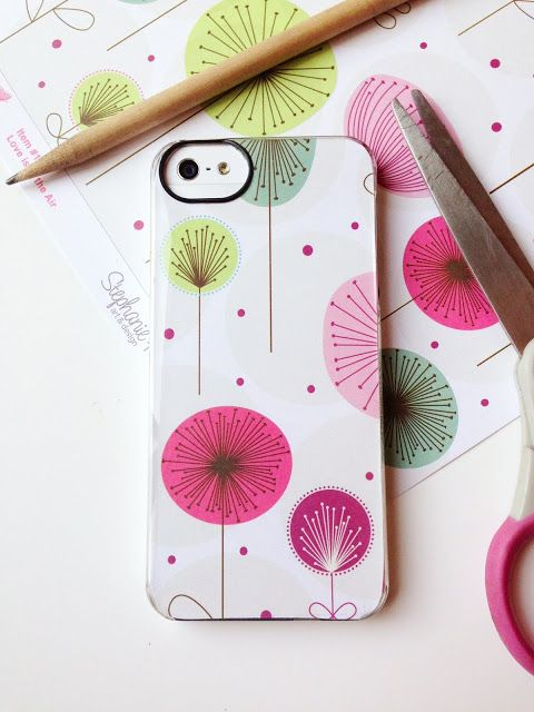 iphone cover Favorite Decorative Uses with Scrapbook Paper