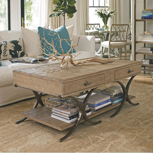 CoffeeTableIdeas02 How to Decorate a Coffee Table