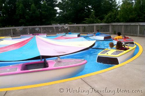 Michigan's Adventure Speed Splashers ride
