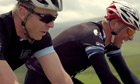 Chris Hoy and William Fotheringham cycle the Grand Départ through Yorkshire