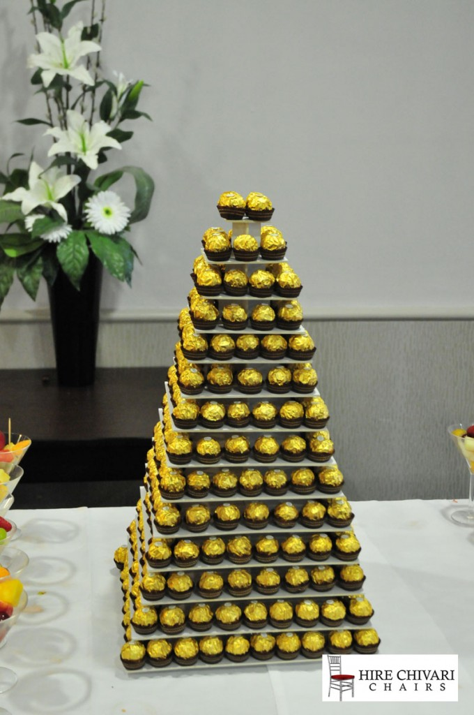 ferrero rocher tower wedding