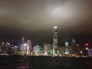 HK Skyline from Star Ferry