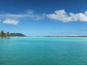 Clear Blue Waters on Arrival!