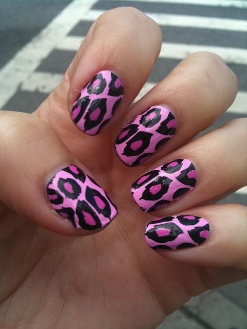 ногтевой гепард-дизайн