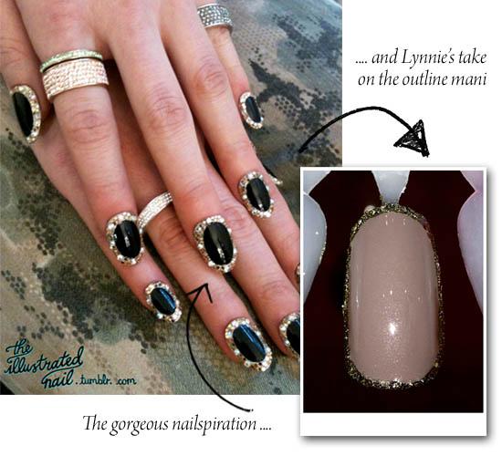 ногти с украшениями