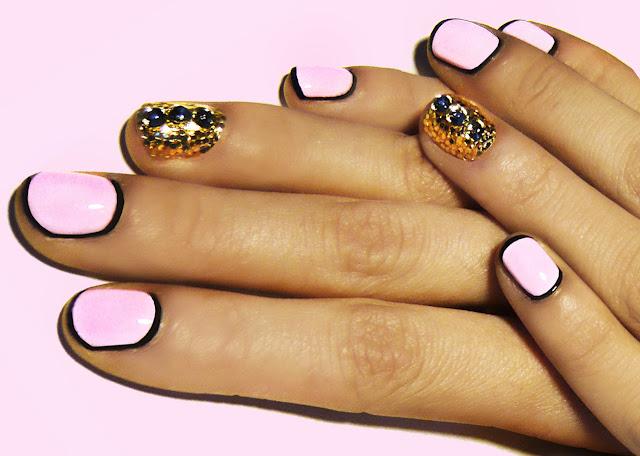 модные ногти 2012
