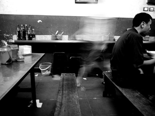 Pho Thin on Lo Duc street in Hanoi a traditional beef noodle soup kitchen par excellence